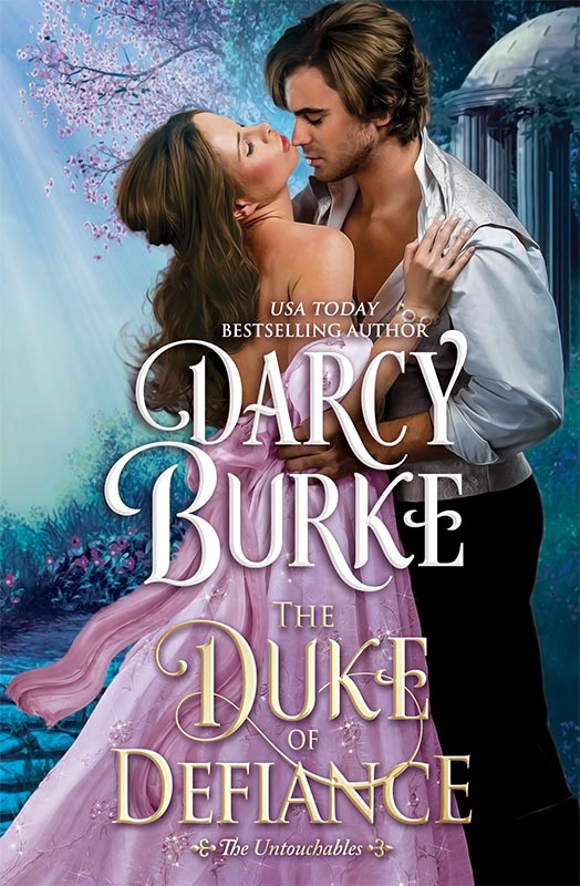 Cover Reveal and Giveaway: The Duke of Defiance by Darcy Burke